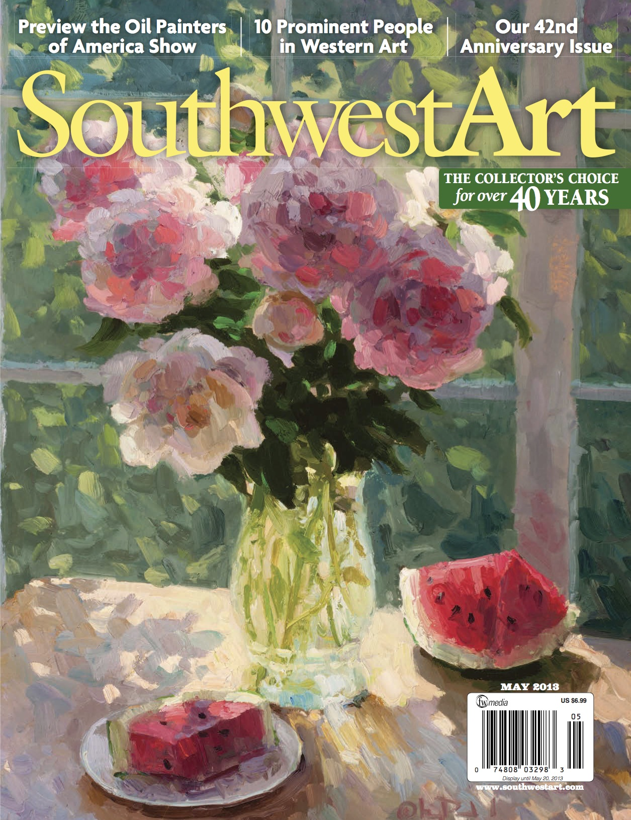 Southwest Art Magazine May 2013 (dragged) copy